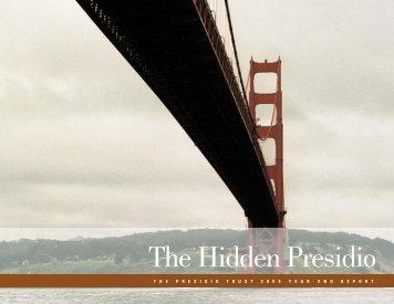 Fiscal Year 2005 Annual Report - Presidio Trust