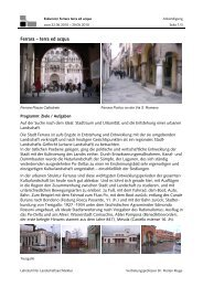 Ferrara – terra ed acqua - Lehrstuhl für Landschaftsarchitektur