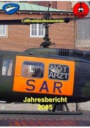 Jahresbericht 2005 ( PDF , 5,7 MB) - SAR - Leitstelle Münster (RCC ...