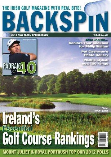 mount juliet & royal portrush top our 2012 polls - Backspin Golf ...