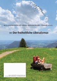 Der freiheitliche Liberalismus - JuLis Bayern