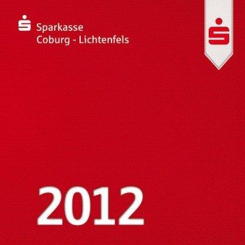 Jahreschronik 2012 - Sparkasse Coburg - Lichtenfels