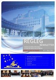 Newsletter FR _num 2 Mars 2011_ final version - RegLeg