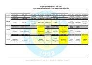 inşaat mühendisliği bölümü 2010–2011 güz dönemi final sınav takvimi