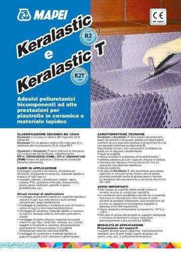 Scheda tecnica Keralastic T