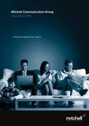 Annual Report 2008 - Aegis Media