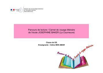 Parcours de lecture / Carnet de voyage littéraire de l'école ...