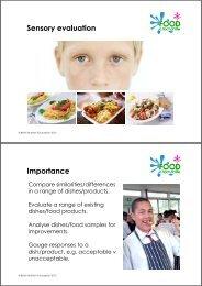 Sensory matters 24 May 2010.pdf - Food a fact of life