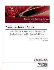 Gambling Impact Study — Part 1A - Online Sunshine