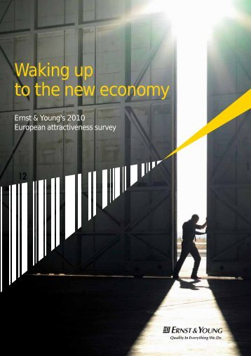 Waking up to the new economy Ernst & Young's 2010 European ...