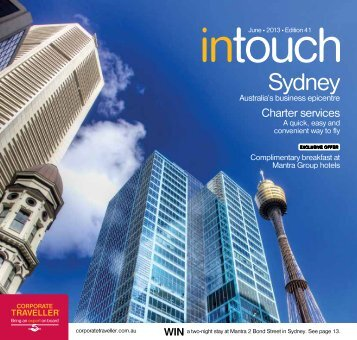 Corporate Traveller Intouch June 2013