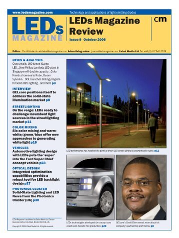 LEDs Magazine Review