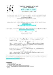 Regularity results for vector fields of bounded distortion and ...