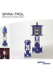 SPIRA-TROL general service control valves - Spirax Sarco
