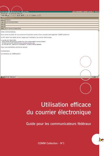 Brochure Courrier F - Fedweb
