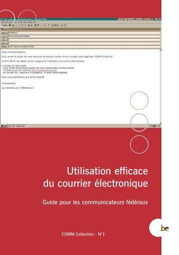 Brochure Courrier F - Fedweb