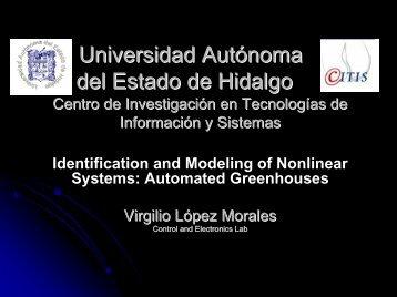 Universidad Autónoma del Estado de Hidalgo Centro de ...