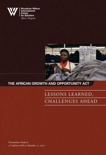 lessons learned, challenges ahead - Woodrow Wilson International ...