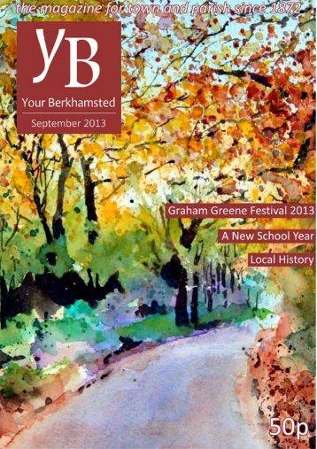 Read the September issue - St Peter's Church, Berkhamsted, Herts
