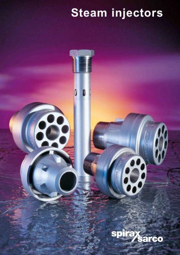 Steam Injectors - Spirax Sarco