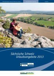Sächsische Schweiz Urlaubsangebote 2013