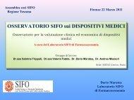 valutazione clinica ed economica dispositivi medici, Dario ... - Sifo