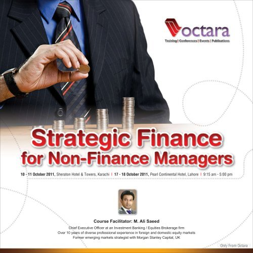 Strategic Finance for Non-Finance Managers - Octara com