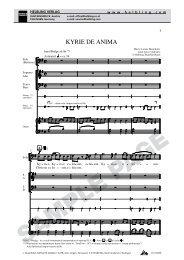KYRIE DE ANIMA - Helbling Verlag