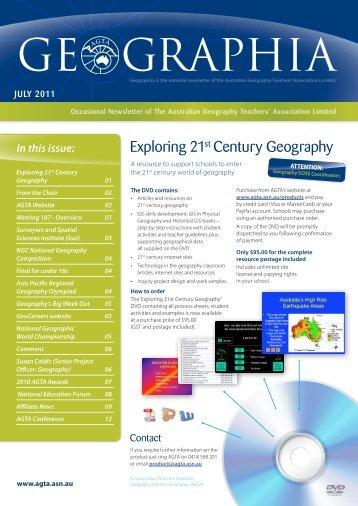 Geographia - Australian Geography Teachers Association