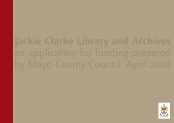 Jackie Clarke Library and Archives - Mayo County Council