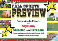 2011 fall sports preview - Advertiser Community News