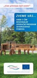 ZVEME VÁS... - Regionální rada regionu soudržnosti Severozápad