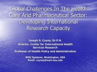 Global Challenges In The Health Care And Pharmaceutical Sector ...