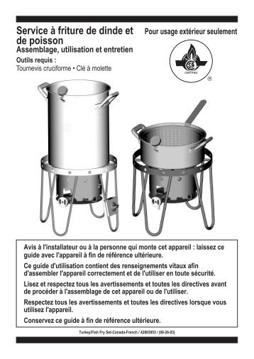 Turkey_Fish Fryers_2003_CAN_F... - Char-Broil Grills