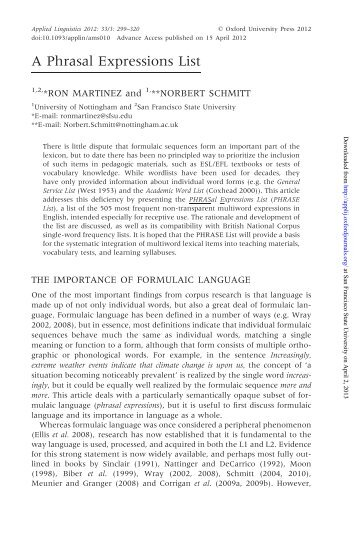 Brownfreq  lextutorca  Compleat Lexical Tutor
