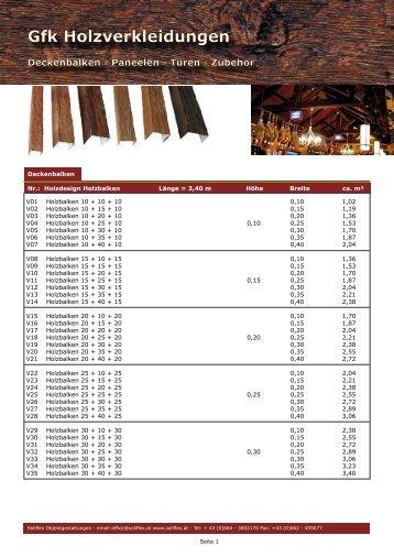 Gfk Holzverkleidungen Gfk Holzverkleidungen - Solistone.eu