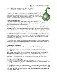 Information enskilda avlopp pdf. - Smedjebackens kommun