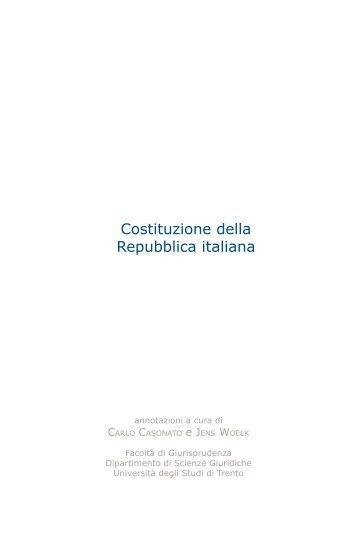 testo italiano - Università degli Studi di Trento
