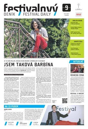 JSEM TAKOVÁ BARBÍNA - Mezinárodní Filmový Festival Karlovy Vary