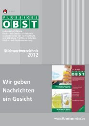 Stichwortverzeichnis FLÜSSIGES OBST 2012 - Archiv Fluessiges ...