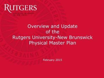 NB Physical Master Plan Presentation for BoG 2-2-15
