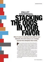Inbound Logistics | Pallet Strategies: Stacking the Odds in Your ...