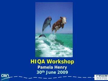 Using Health Information Standards to develop Patient ... - hiqa.ie