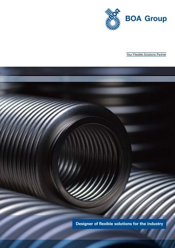 Designer of flexible solutions for the industry - BOA Group