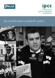 Complaints - Hampshire Police Federation