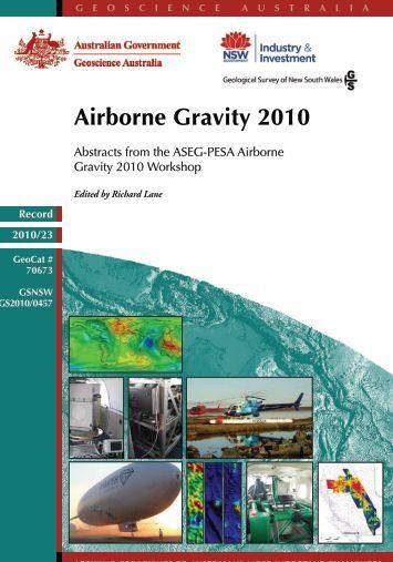 Airborne Gravity 2010 - Geoscience Australia