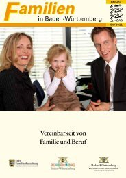 Vereinbarkeit von Familie und Beruf - Statistisches Landesamt ...