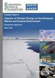 Impacts of Climate Change on the European Marine and Coastal ...