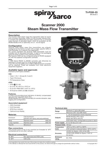 flow transmitter    screw volumeter vhs
