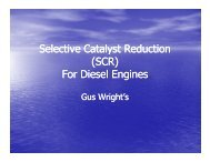 Selective Catalyst Reduction (SCR) F Di l E i or ... - by Gus Wright